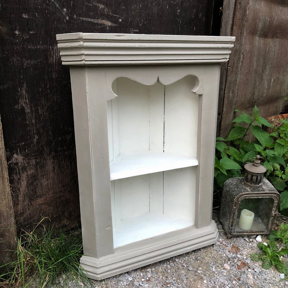charming antique white wash furniture | Charming Rustic Vintage Grey & White Hand Painted Small ...