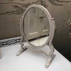Adorable Little Antique Georgian Regency Style Table Swing Antique Mirror Glass