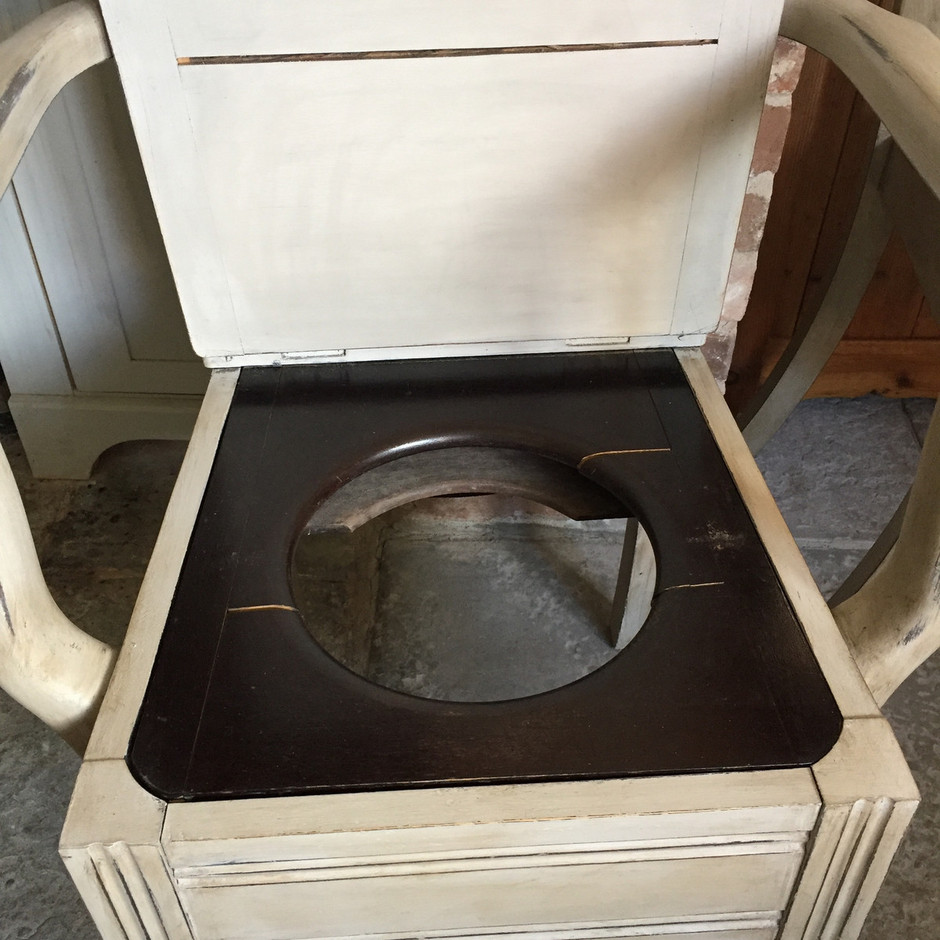 Antique commode chair - This Is A Product From Crown Cottage Somerset S Antique Vintage Hand Painted Furniture